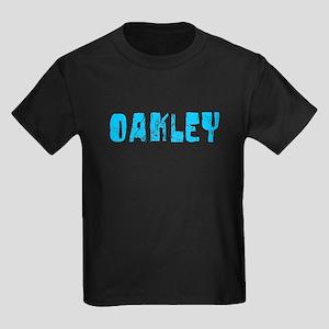 Oakley Faded (Blue) Kids Dark T-Shirt
