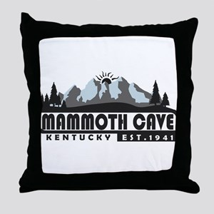Mammoth Cave - Kentucky Throw Pillow