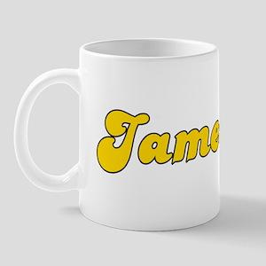 Retro Jamestown (Gold) Mug