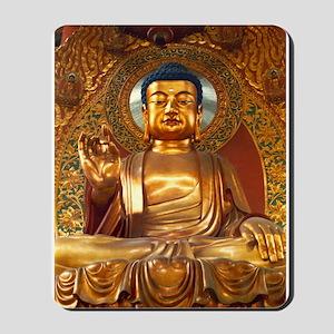 Golden Buddha - Mousepad