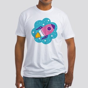 Spaceship (Pink) T-Shirt