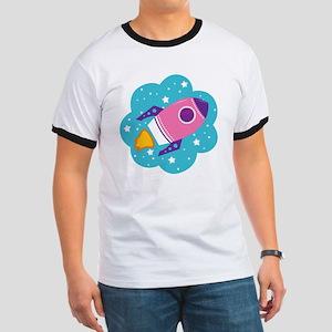 Spaceship (Pink) T-Shirt