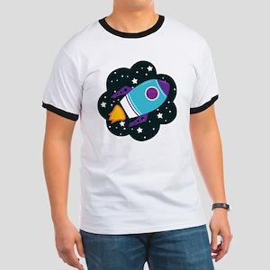 Spaceship (Blue) T-Shirt