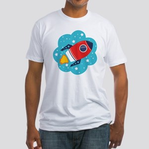 Spaceship (Red) T-Shirt