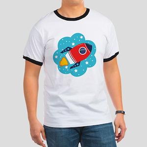 Spaceship (Red) T-Shirt