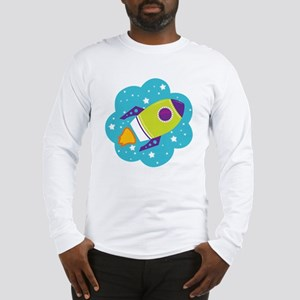 Spaceship Long Sleeve T-Shirt