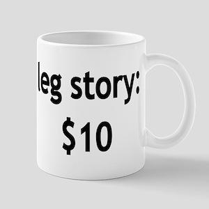 Leg Story Mug