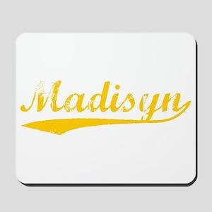 Vintage Madisyn (Orange) Mousepad