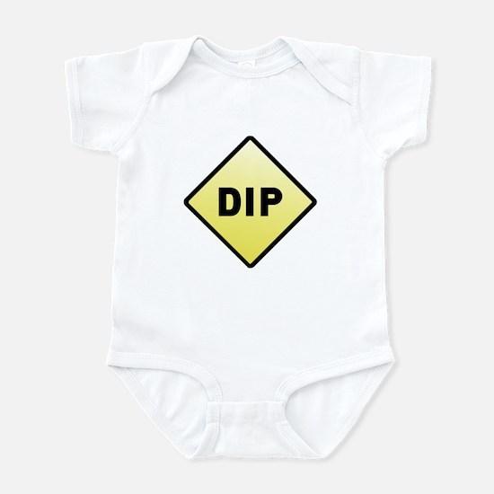 CAUTION! DIP Infant Bodysuit