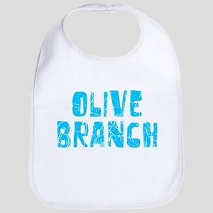 Olive Branch Faded (Blue) Bib