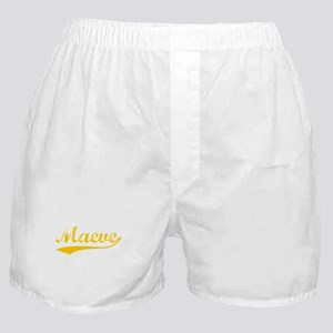 Vintage Maeve (Orange) Boxer Shorts
