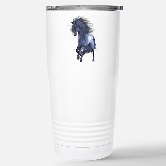Blue Unicorn 1 Mugs