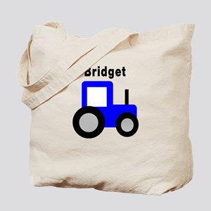 Bridget - Blue Tractor Tote Bag