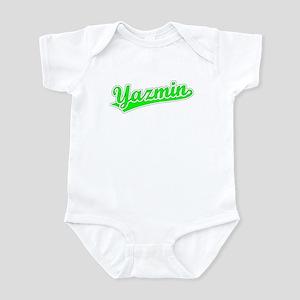 Retro Yazmin (Green) Infant Bodysuit
