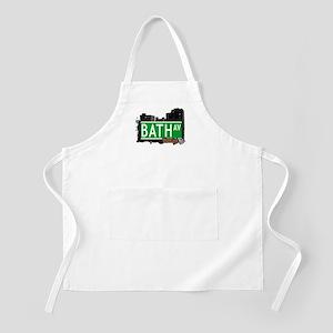 BATH AVENUE, BROOKLYN, NYC BBQ Apron