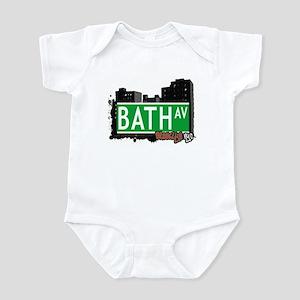 BATH AVENUE, BROOKLYN, NYC Infant Bodysuit