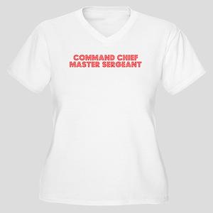 Retro Command Ch.. (Red) Women's Plus Size V-Neck