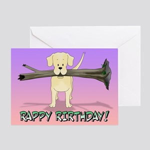 Labrador-It's the Thought Greeting Card