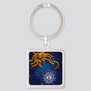 Harvest Moons Sun and Moon Keychains