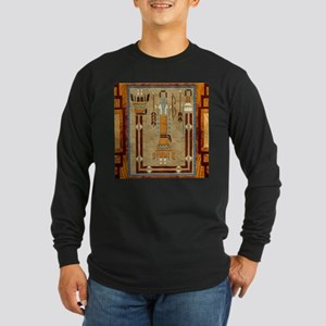 Harvest Moons Sand Painting Long Sleeve T-Shirt