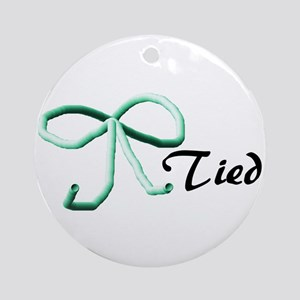 Tubes Tied Ornament (Round)