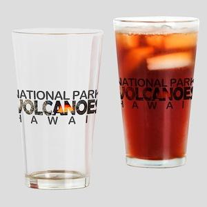 Hawaii Volcanoes - Hawaii Drinking Glass