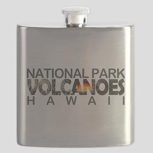 Hawaii Volcanoes - Hawaii Flask