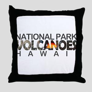 Hawaii Volcanoes - Hawaii Throw Pillow