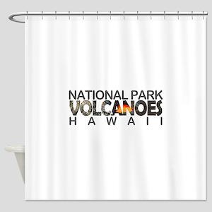 Hawaii Volcanoes - Hawaii Shower Curtain