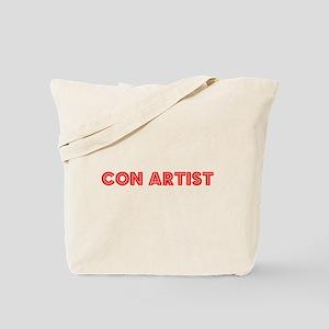 Retro Con artist (Red) Tote Bag