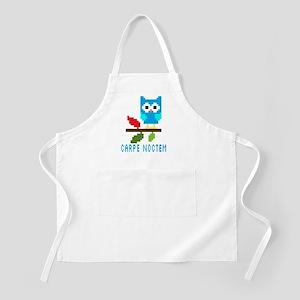 Night Owl | Carpe Noctem | Cute Owl Light Apron