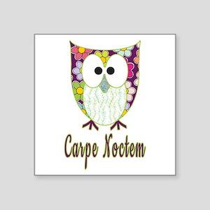 Night Owl | Carpe Noctem | Cute Owl Sticker