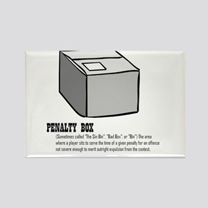 The Box Rectangle Magnet