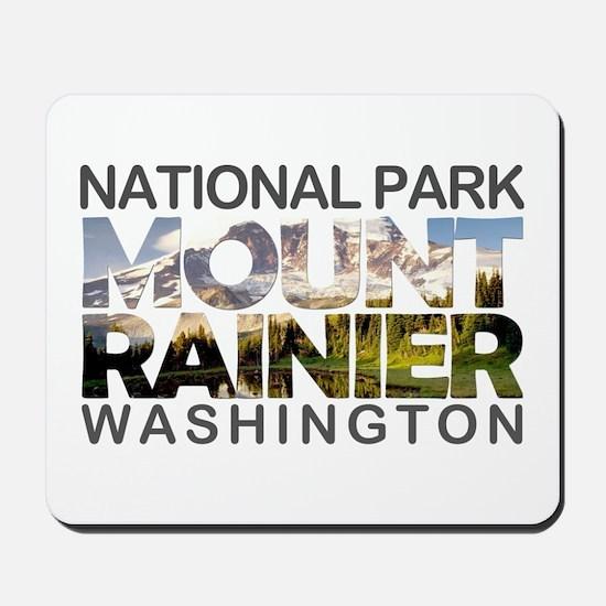 Mount Rainier - Washington Mousepad