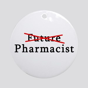 Future Pharmacist No More Ornament (Round)