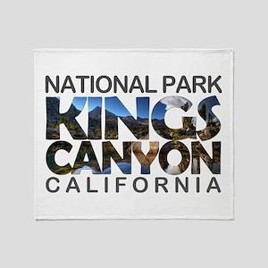 Kings Canyon - California Throw Blanket