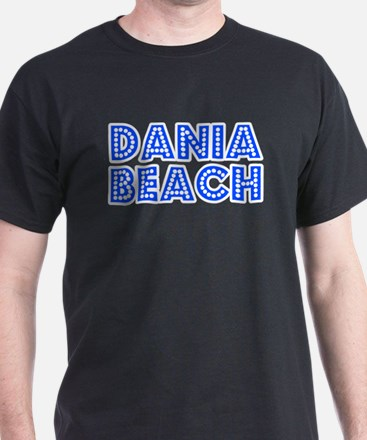 Retro Dania Beach (Blue) T-Shirt