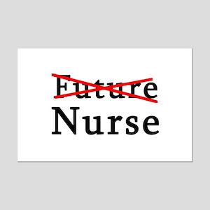 No Longer Future Nurse Mini Poster Print
