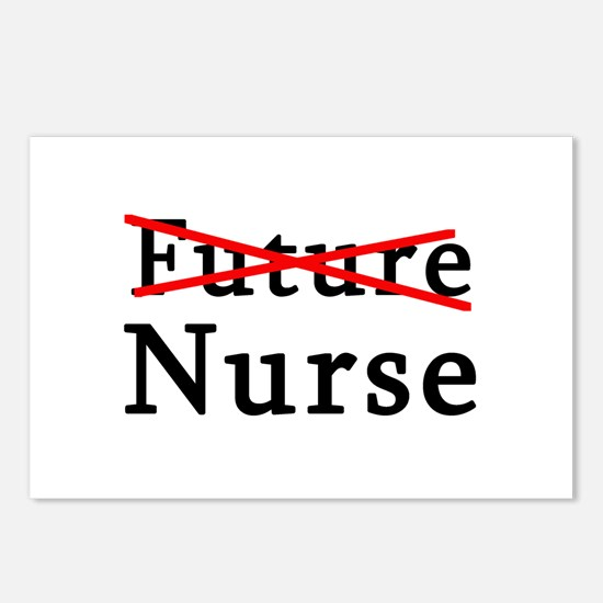 No Longer Future Nurse Postcards (Package of 8)