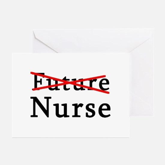 No Longer Future Nurse Greeting Cards (Pk of 10)