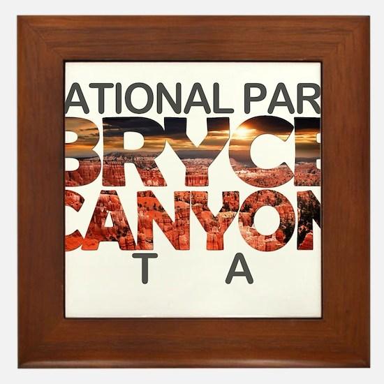 Bryce Canyon - Utah Framed Tile
