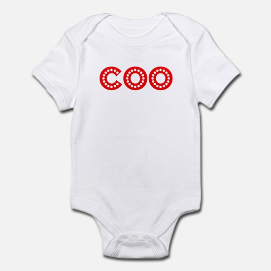 Retro COO (Red) Infant Bodysuit