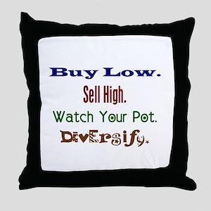 Buy Low Throw Pillow
