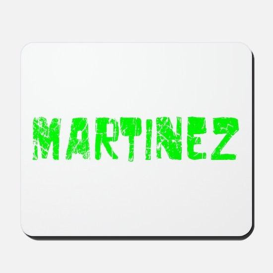 Martinez Faded (Green) Mousepad