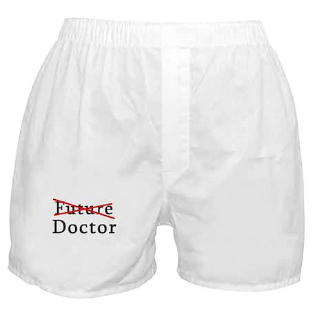 No Longer Future Doctor Boxer Shorts