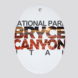 Bryce Canyon - Utah Oval Ornament