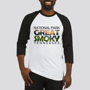 Great Smoky Mountains - Tennessee, Baseball Jersey