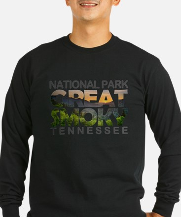Great Smoky Mountains - Tennes Long Sleeve T-Shirt