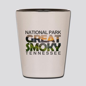 Great Smoky Mountains - Tennessee, Nort Shot Glass