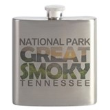 Great smoky mountains national park Flask Bottles
